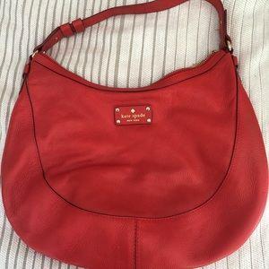 Kate Spade Red Should Bag Purse